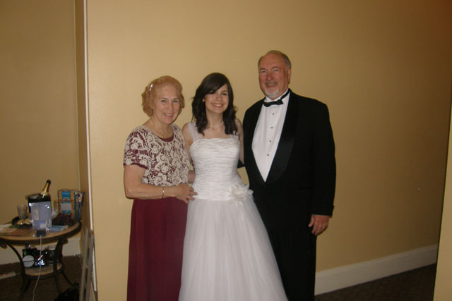 Therese, Shannon, and Charles